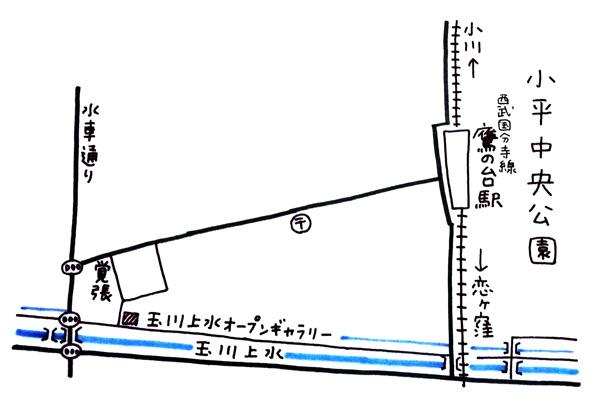 オープンギャラリー地図